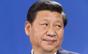 Le président chinois XI Jinping, le 28 mars 2014 à Berlin, en Allemagne.