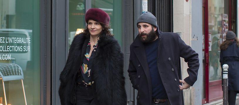 Juliette Binoche et Vincent Macaigne dans Doubles vies d'Olivier Assayas