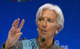 Christine Lagarde à Washington le 13 avril 2019.