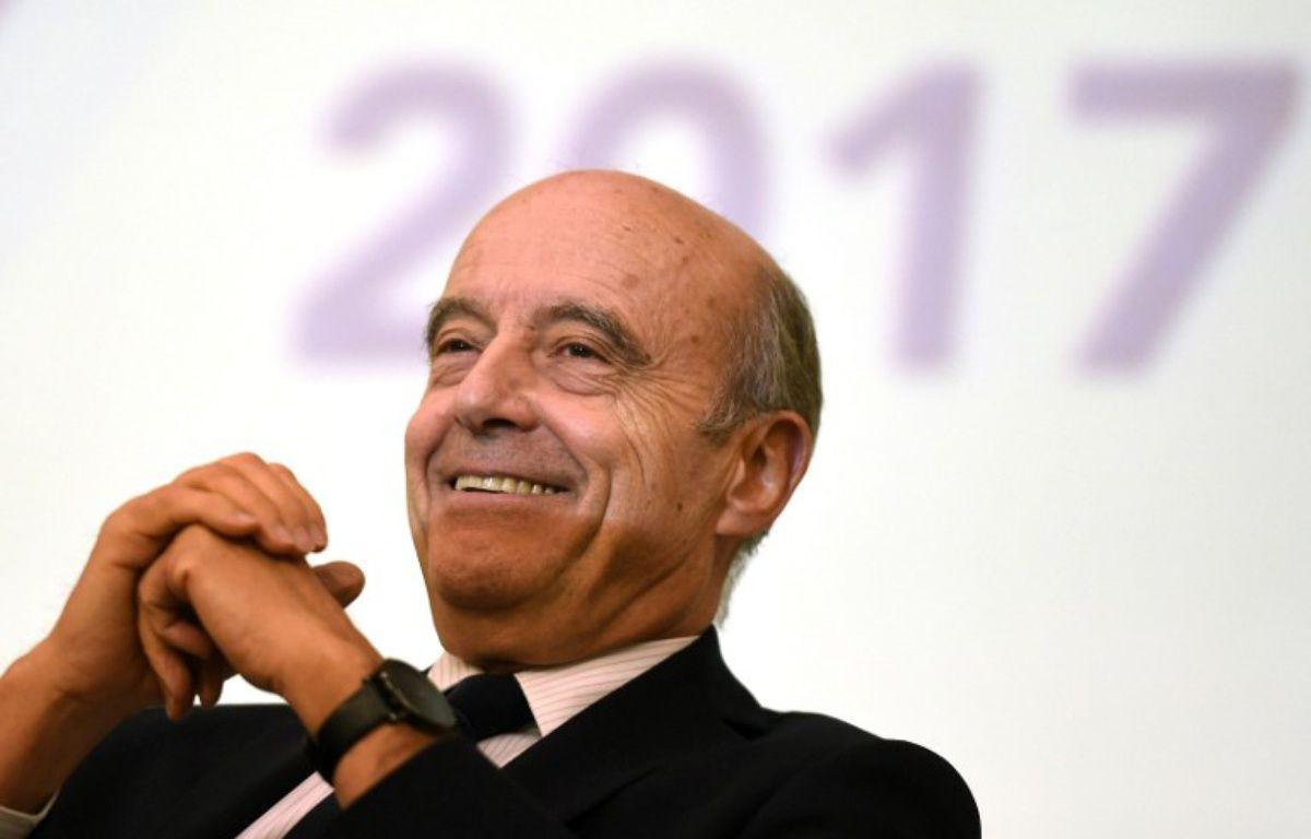 Alain Juppé  – NICOLAS TUCAT / AFP