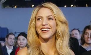 La chanteuse colombienne Shakira le 16 janvier 2017.