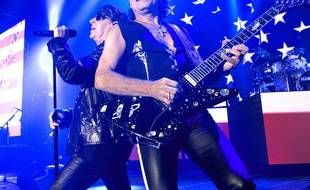 Scorpions en concert à Reading, le 14 septembre 2017.