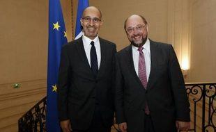 """Le PS français lance lundi sa campagne pour les élections européennes, """"Choisir notre Europe"""", qui se veut axée sur une """"réorientation"""" du continent après """"les années libérales et austéritaires""""."""