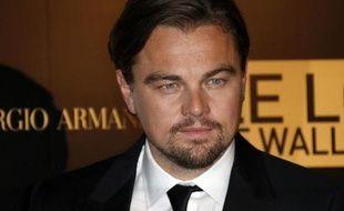 L'acteur Leonardo DiCaprio le 9 décembre 2013 à Paris