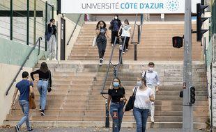 La rentrée 2020 à l'Université Côte d'Azur (Illustration)