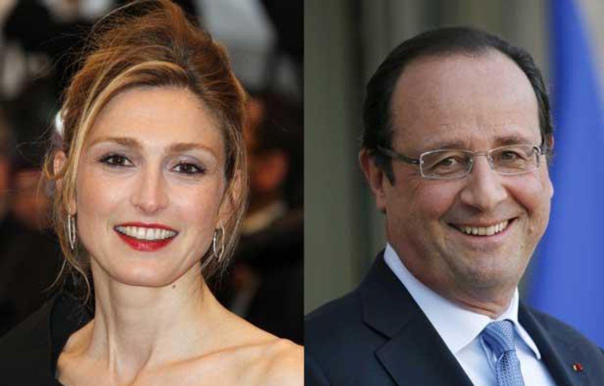 Julie Gayet et François Hollande seraient sur le point d'emménager dans un loft de l'est parisien. – VALERY HACHE THOMAS SAMSON / AFP