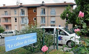 """"""" Le Calme de l'Etang """" accueillait 64 résidents lors de sa fermeture."""