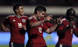 James Rodriguez avec la Colombie, le 6 juin 2014 en match de préparation au mondial.