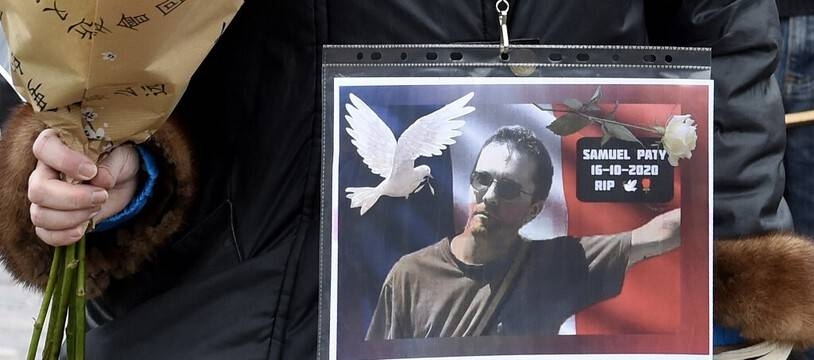 Un square parisien sera renommé en mémoire de Samuel Paty, assassiné l'an dernier. (illustration)
