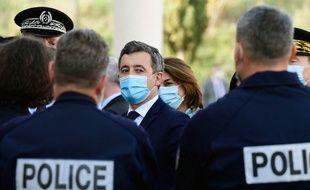 Gérald Darmanin était en visite à Marseille ce jeudi