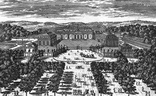 Illustration du Grand Trianon, château de Versailles