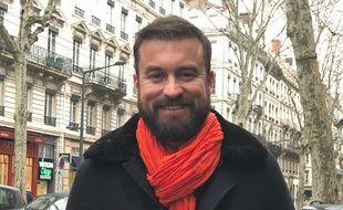 Matthieu Sausset, candidat de l'émission Mariés au premier regard et candidat aux municipales à Lyon.