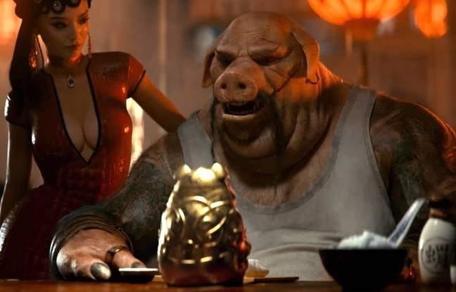 Une image de la bande-annonce de «Beyond Good & Evil 2», la suite du jeu d'Ubisoft de 2003.