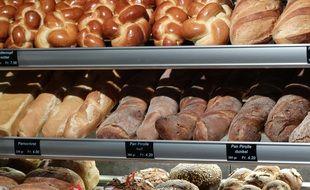 Dans une boulangerie (illustration).