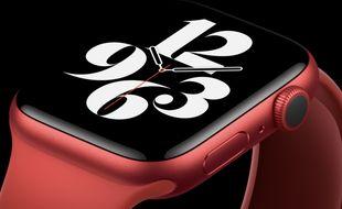 La nouvelle Apple Watch Series 6.