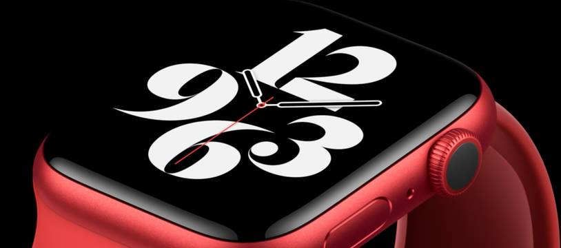La nouvelle Apple Watch Series 6.