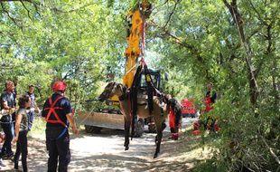 Un poulain a été extrait d'un puits par les pompiers à Bruniquel, dans le Tarn-et-Garonne.