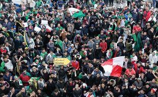 La jeunesse algérienne est très présent dans les manifestations