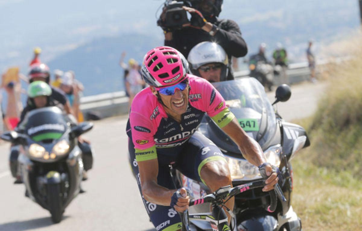 Ruben Plaza Molina sur le dernier Tour de France.  – Christophe Ena/AP/SIPA