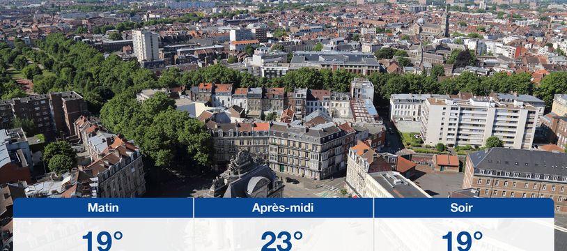 Météo Lille: Prévisions du mardi 4 août 2020