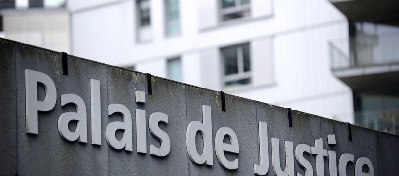 Le palais de justice de Nantes.