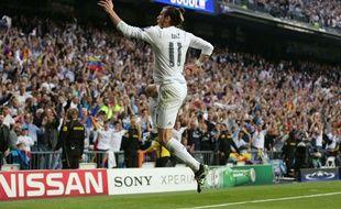 Gareth Bale, auteur du but vainqueur contre Manchester City.