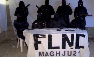 Le groupe armé FLNC maghju 21