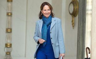 La ministre de l'Ecologie Ségolène Royal le 21 octobre 2015 à  l'Elysée.