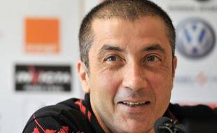 Mourad Boudjellal, le président du club de rugby de Toulon, le 12 septembre 2011.