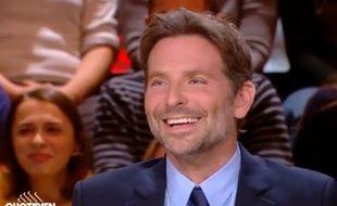Bradley Cooper dans «Quotidien» le 2 octobre 2018.