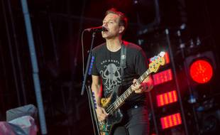 Le bassiste de Blink-182, Mark Hoppus
