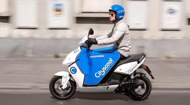 video toulouse le scooter lectrique en libre service arrive en ville. Black Bedroom Furniture Sets. Home Design Ideas