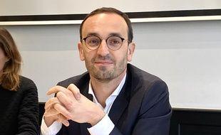 Thomas Cazenave, leader du groupe Renouveau Bordeaux