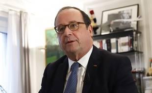 François Hollande, le 13 février 2020, à Paris.