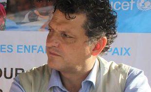 Bruno Maes, le représentant de l'Unicef au Tchad.