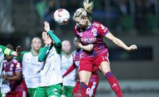 L'attaquante lyonnaise Ada Hegerberg détient désormais le record du nombre de buts inscrits en C1.