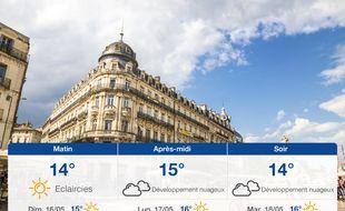 Météo Montpellier: Prévisions du samedi 15 mai 2021