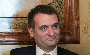 Florian Philippot, vice-président du FN le 18 ai 2015.