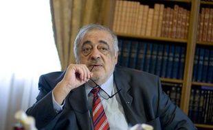 Philippe Séguin, président de la Cour des comptes et de la commission «Grand stade Euro 2016».