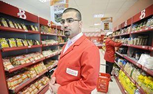 Le fondateur du supermarché Baker Market garantit des produits 100% halal.