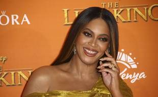 """La chanteuse américaine Beyoncé dévoile un clip pour le film """"Le Roi Lion, de Jon Favreau."""