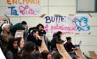 Des étudiants d'Aix-Marseille, le 11/04/2018.