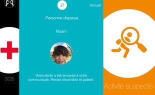 Application smartphone eyesHelp.