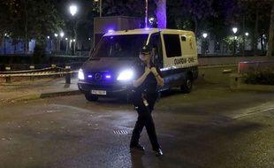 Un véhicule de la garde civile espagnole (illustration).