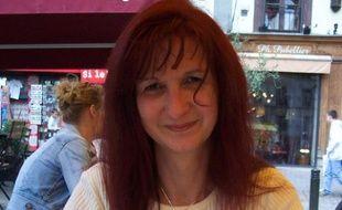 Brigitte Glodberg, la présidente du parti Avenir-2012, premier parti dirigé par une transsexuelle.