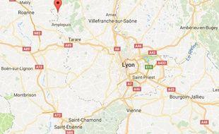 Le drame a eu lieu ce vendredi 15 septembre 2017 à Thizy-les-Bourgs dans le Rhône.