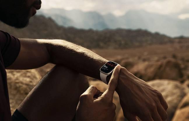 Dzięki pełnej impedancji Apple Watch Series 7 staje się zegarkiem dla turystów z plecakiem.