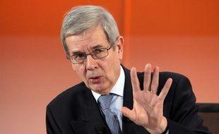 Philippe Varin, le 13 février 2013 lors d'une conférence à Paris.