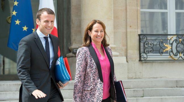 Emmanuel Macron et Ségolène Royal, le 3 août 2016. – VILLARD/SIPA