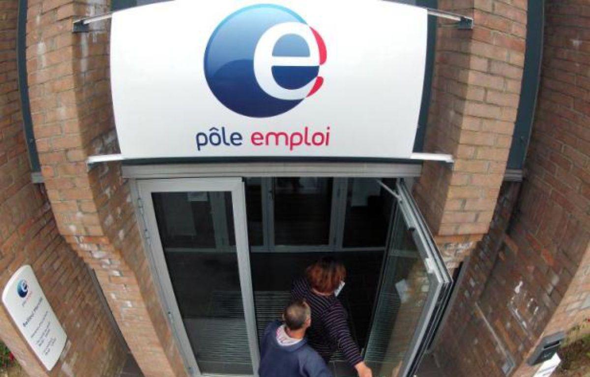 Une antenne de Pôle emploi à Bailleul, dans le Nord-Pas-de-Calais, le 13 septembre 2012 – Philippe Huguen AFP